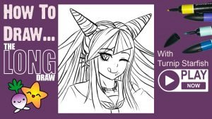 HOW TO DRAW Danganronpa Ibuki Mioda