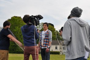 filming with Turnip Starfish