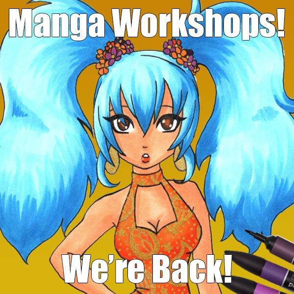Manga workshop 28th October